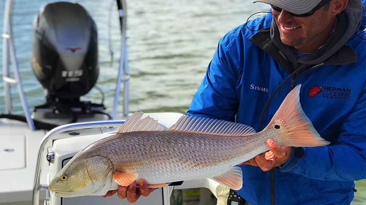 Redfish St. Simons Island fishing report