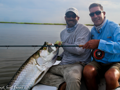 St. Simons Island fly fishing tarpon