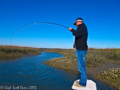 Fly Fishing St. Simons Island Capt. Scott Owens