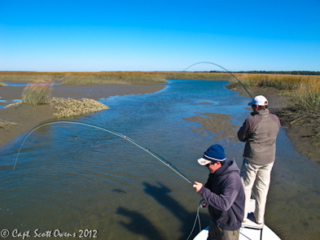Fly Fishing Guide St. Simons Island Georgia