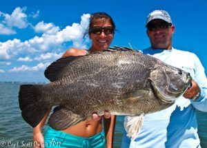 Jekyll Island Tripletail fishing