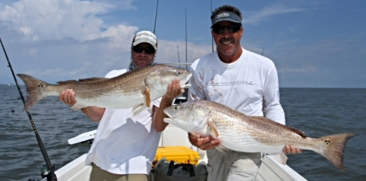 St. Simons and Jekyll island fishing charters and guides