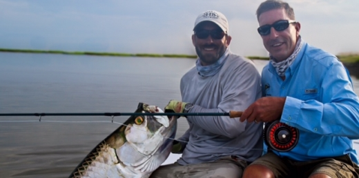 Tarpon fishing guides st. simons island Georgia
