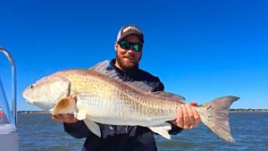 Fishing St Simons Island - Seeing Red!