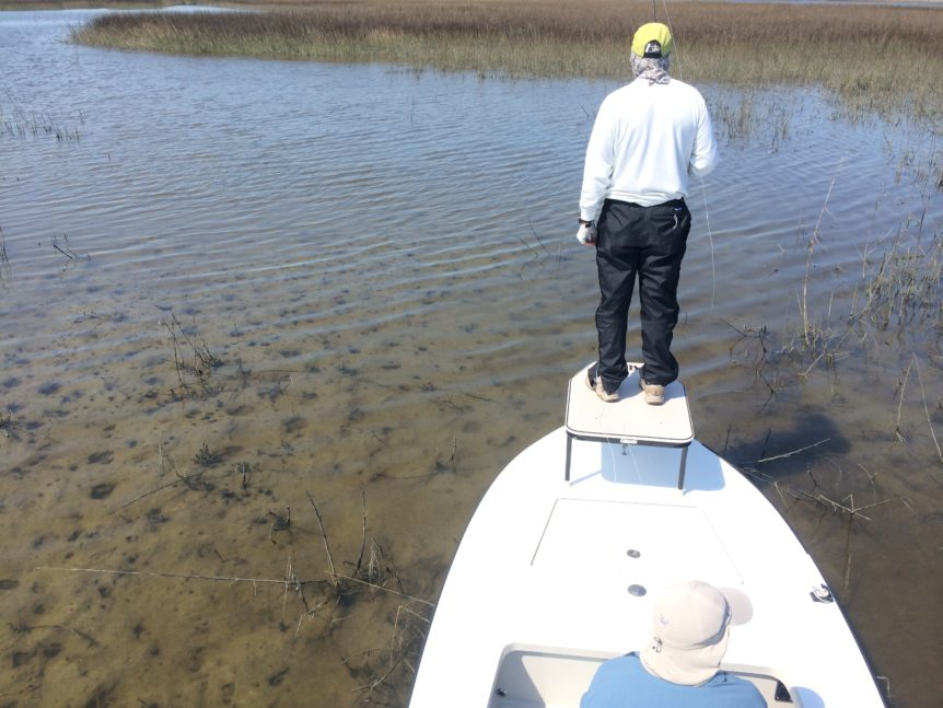 Sea Island Georgia fishing trips
