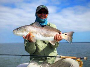 St. Simons Island fishing charters-redfish fishing report February 2018