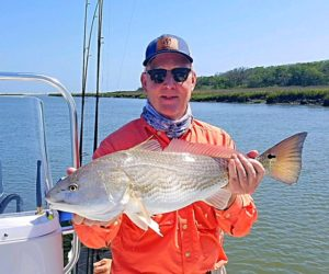 April 2018 redfish charters