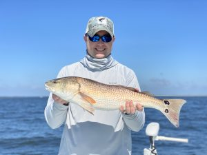 Saint Simons Island fishing report 2020 redfish